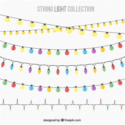 string lights for beautiful string lights for vector free