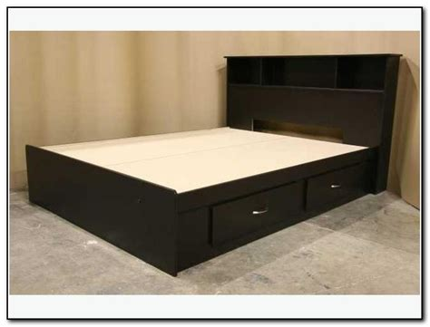 fullsize bed frame beds with drawers awesome intercon oak park mission
