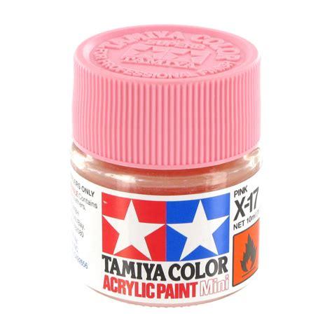 acrylic paint how to make pink tamiya colour acrylic paint x 17 pink 10ml hobbycraft
