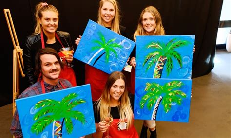 paint nite groupon deal paint the nite melbourne groupon