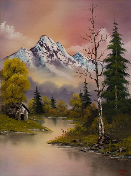 painting by bob ross for sale bob ross paintings for sale bob ross evenings delight