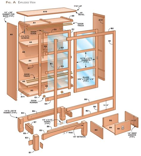 bookcase plans with doors sliding door bookcase popular woodworking magazine