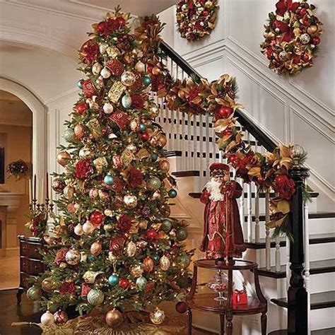 frontgate trees decorated pictures reference
