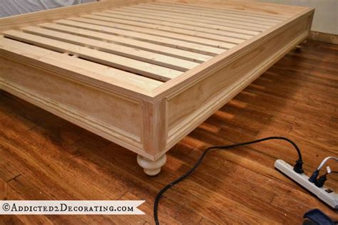 how to make a platform bed frame with drawers how to make a raised platform bed frame design ideas for