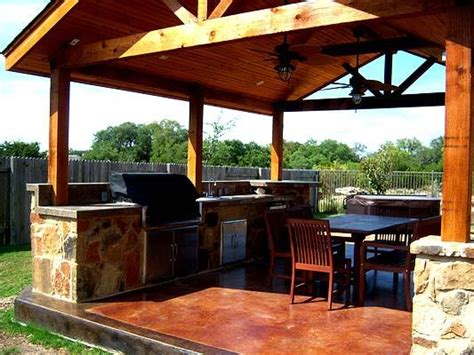 covered outdoor kitchen designs mooresville covered outdoor kitchen totally equipped