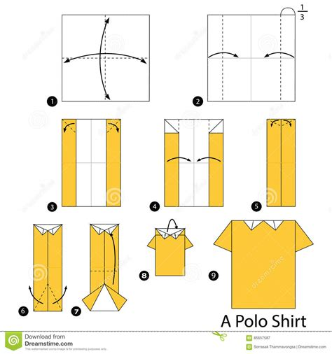 how to make a origami shirt step by step how to make origami a polo shirt