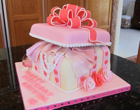jewelry birthday you to see jewelry box birthday cake by elaine truong