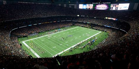 Where Is The Mercedes Superdome by Mercedes Superdome Musco Sports Lighting