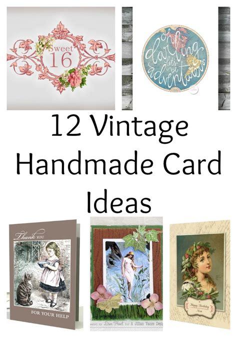 12 Vintage Handmade Card Ideas The Graphics