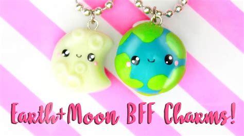 bff crafts for diy bff earth moon charms kawaii friday my crafts