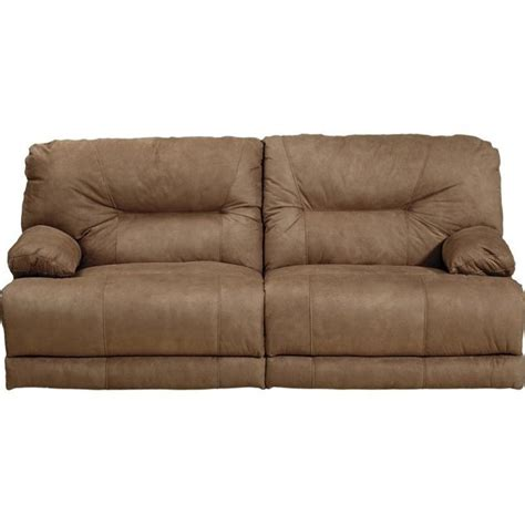 catnapper reclining sofas catnapper noble power lay flat reclining fabric sofa in