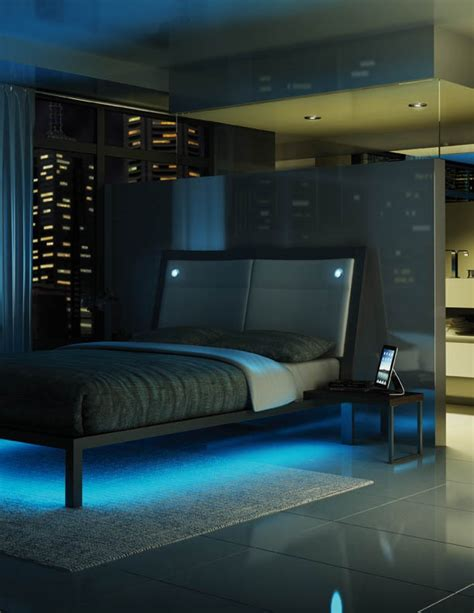 led bedroom lighting amisco furniture bedroom lounge platform bed