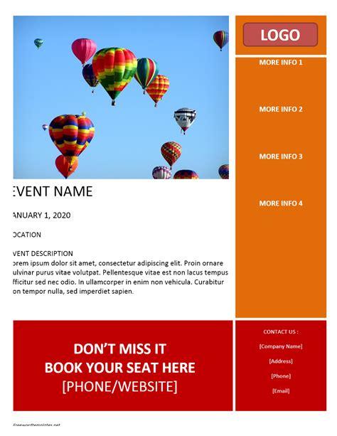 flyer template flyer archives freewordtemplates net
