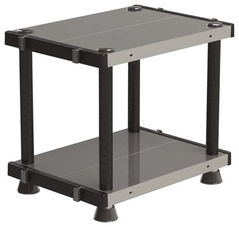 metal utility shelves adjustable metal plastic 2 tier shelf black 18 x24
