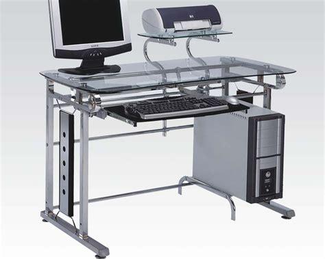 metal computer desk eurostyle brichi metal on casters