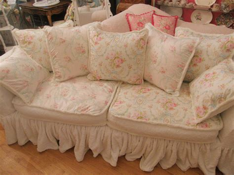 shabby chic sofa slipcovers vintage chic furniture schenectady ny shabby chic