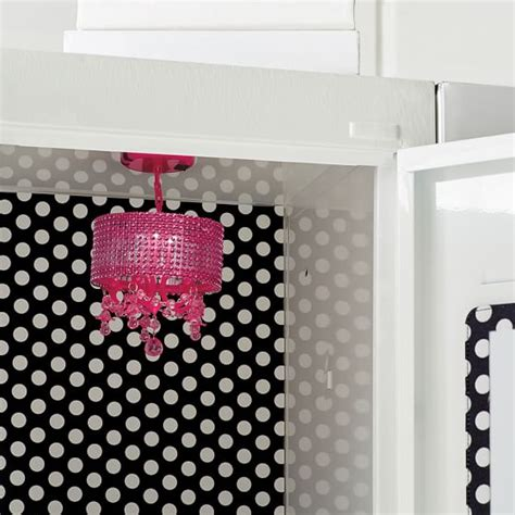 pink locker chandelier pink locker chandelier pbteen