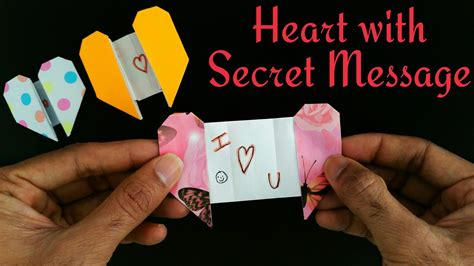 how to make board cards greetings card with a secret message for s