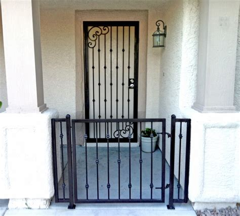 security gate for front door customer testimonials of iron custom wrought iron