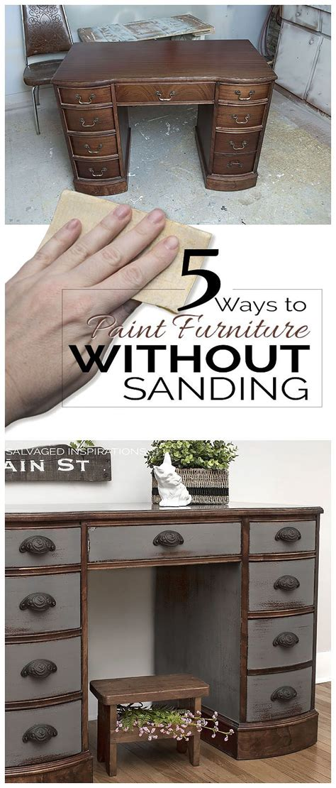 how to paint bedroom furniture without sanding 5 ways to paint furniture without sanding inspirational
