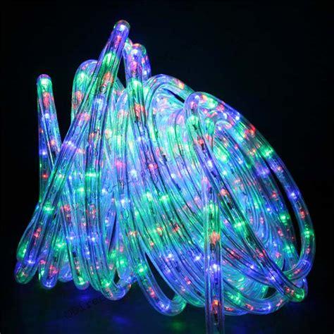 rope light multi color multi color led rope lights 50ft rlwl 50 mt direct