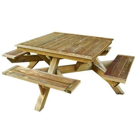 table de jardin carree extensible maison design foofaq