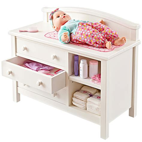 doll changing table woodworking plan from wood magazine