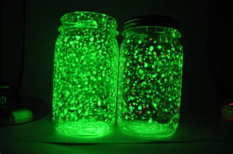 glow in the paint jars glowing jars great for or decorations