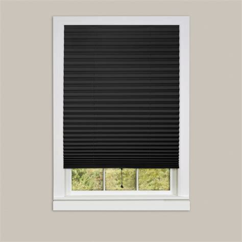 l shades with cordless pleated window shades room darkening vinyl blinds