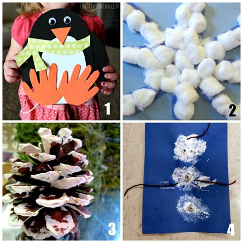 winter craft projects for preschoolers 20 winter crafts for preschoolers