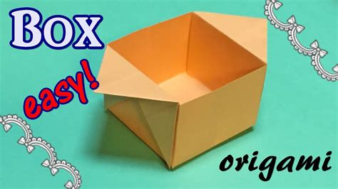 easy origami for using a4 paper origami box out of a4 paper easy and simple origami