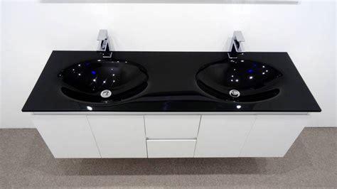 bathroom vanity with glass top bathroom vanity unit glass top cabinet set 1500mm