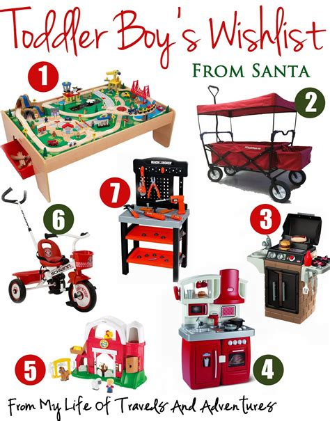 gift ideas for toddlers for my of travels and adventures toddler boy s wish list