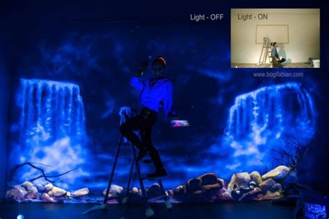 glow in the painting room glowing murals turn your room into a dreamy world when the