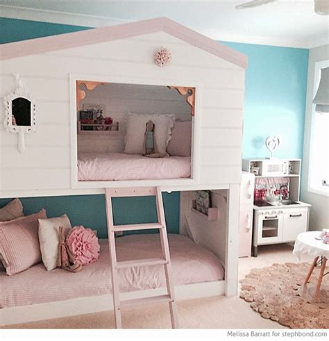 lofts and bunk beds bondville amazing loft bunk bed room for three