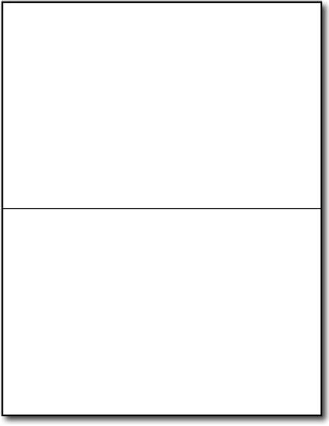 half fold greeting cards 80lb white desktopsupplies com