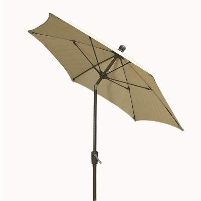 home depot patio umbrellas fiberbuilt umbrellas 9 ft patio umbrella in beige 9hcrcb