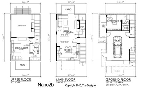 3 story townhouse floor plans modern affordable 3 story residential designs the