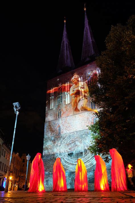berlin painting festival light festival of lights berlin guardians of time