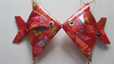 cny paper craft cny tutorial no 28 small packet hongbao fish