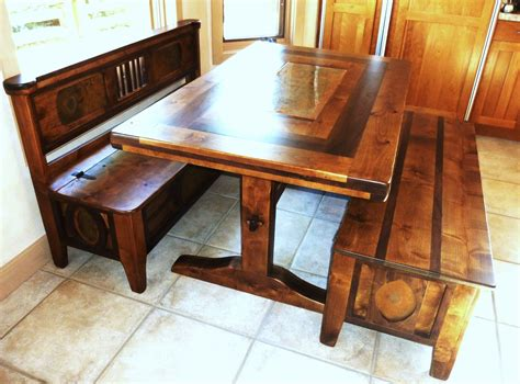 bench style kitchen tables kitchen storage bench and table bee home plan