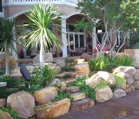 florida rock garden tropical outdoor rock garden steps in florida tropical