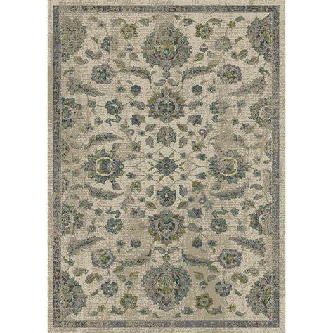 allen roth area rugs shop allen roth portsbury beige rectangular indoor woven