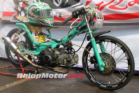 Modifikasi Supra X 125 Indoprix by Honda Supra 125 Oei Racing Caplok Mesin Indoprix Bisa