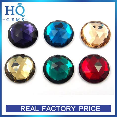 gems wholesale wholesale flat back glass gems buy glass gems