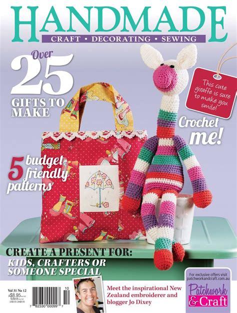 craft magazine for pin by patchwork craft magazines on handmade magazine