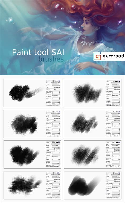 paint tool sai 2 deviantart paint tool sai brushes by sharandula on deviantart