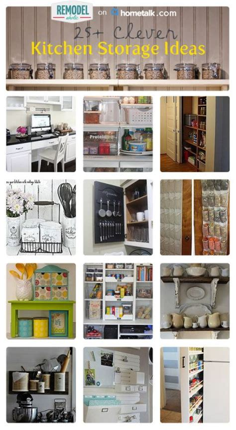clever kitchen ideas 25 clever kitchen storage ideas remodelaholic bloglovin