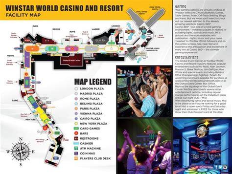 winstar casino floor plan winstar world casino and resort maplets