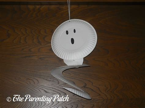 paper plate ghost craft g is for ghost paper plate craft parenting patch
